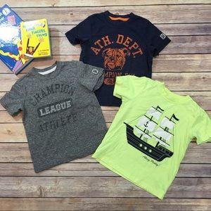 Set of 3 Sz 3T Carter's Boys Short Sleeve T-Shirts